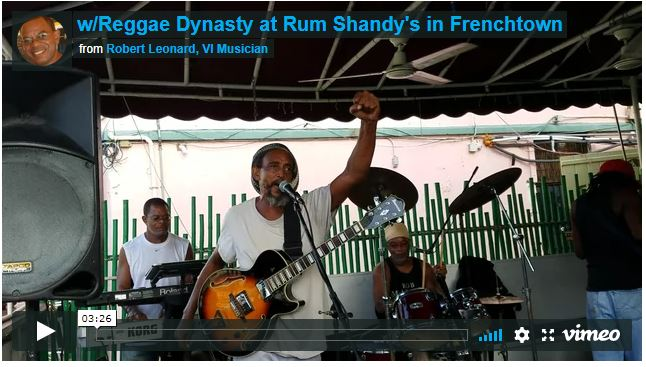 w/Reggae Dynasty at Rum Shandy's in Frenchtown