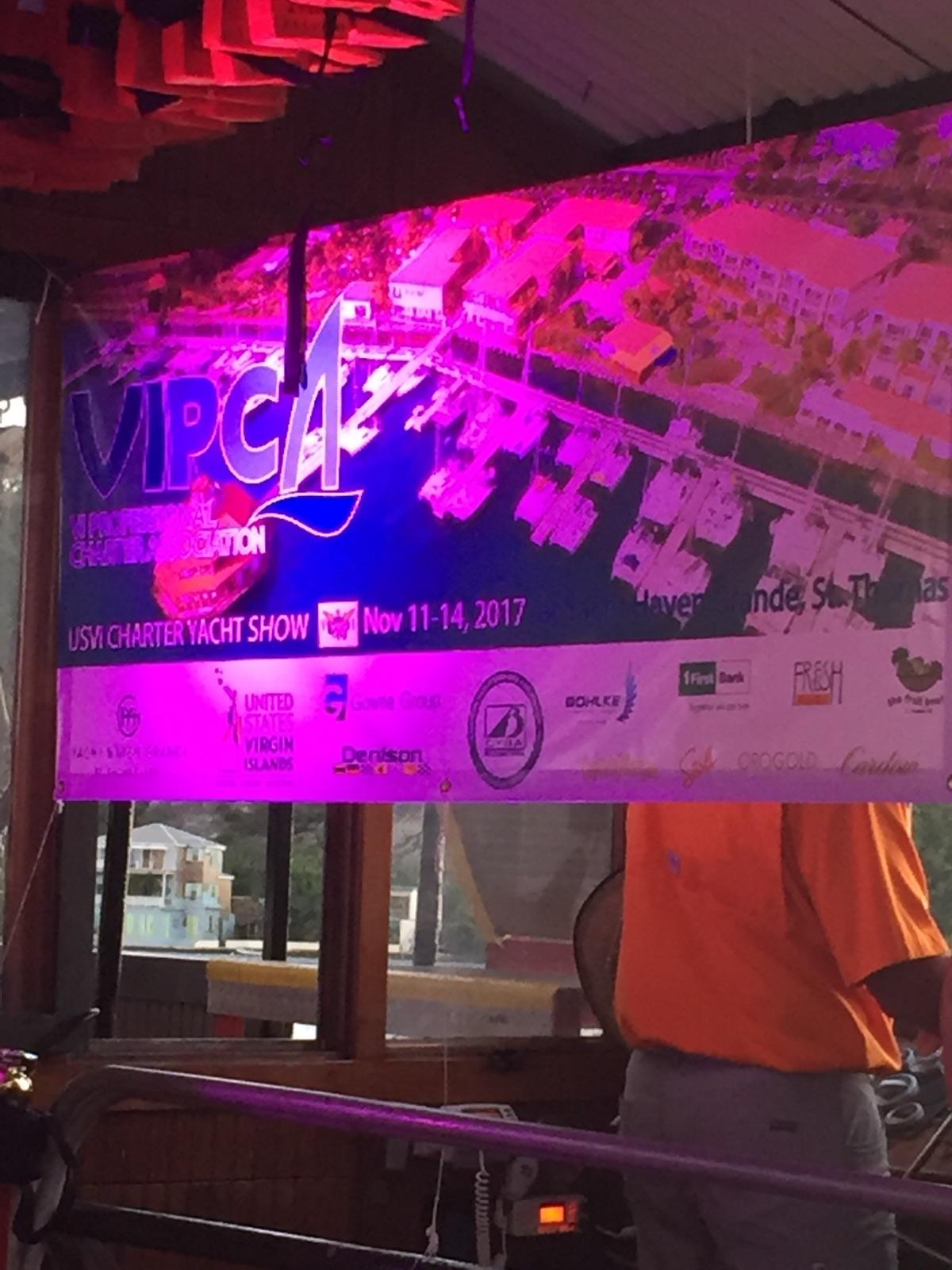 VIPCA welcome banner