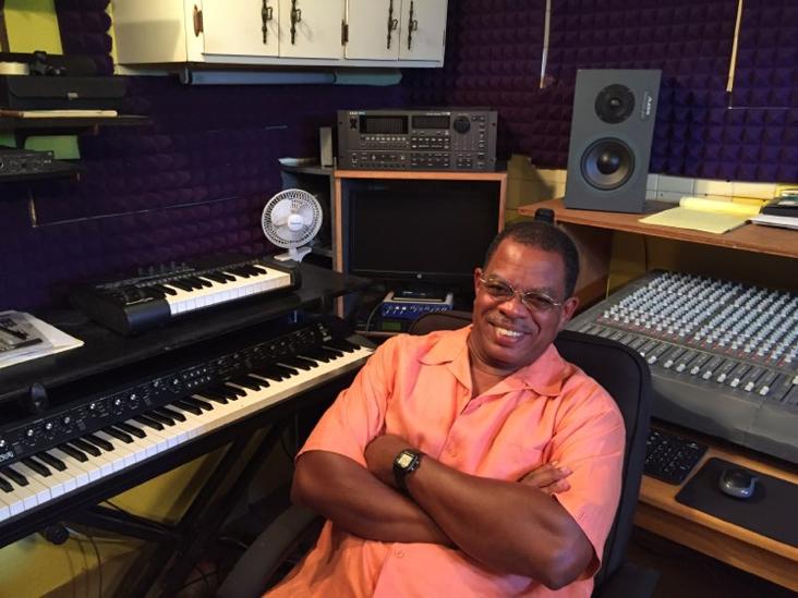 robert leonard in studio