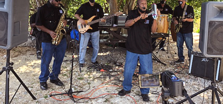 With Music Makers at 30th Annual Folklife Festival on St. John